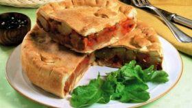 Torta di patate e pomodoro