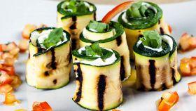 Involtini di zucchine al gorgonzola