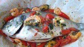 Cartoccio di mare, il gusto del pesce senza grassi aggiunti