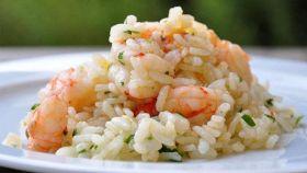 Insalata di riso al pesce spada