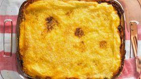 Polenta ai quattro formaggi