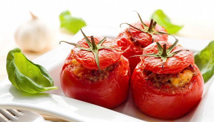 Pomodori ripieni alla siciliana con capperi