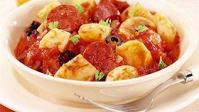 Salsiccia con cipolle