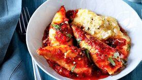 Brodetto di calamari con polenta