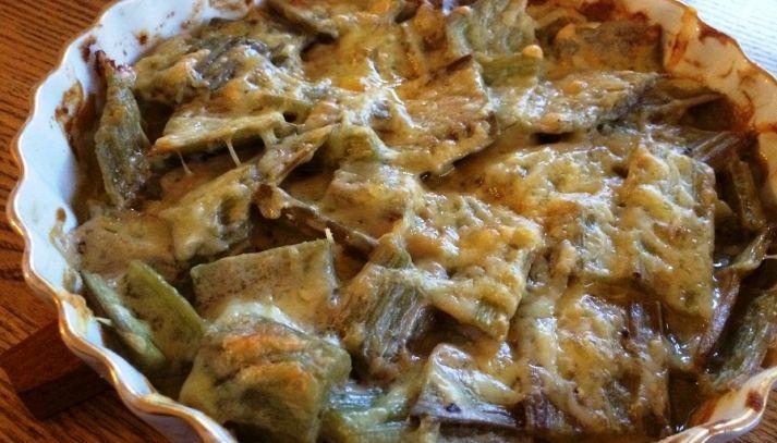 Cardi alla parmigiana