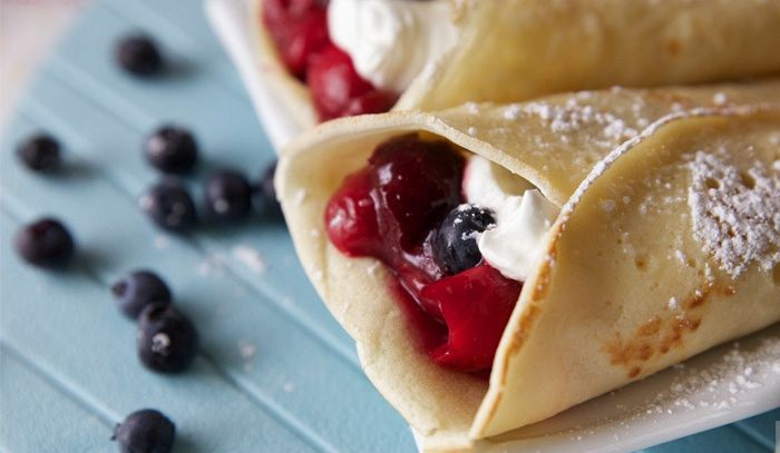 Crepes Jubilee