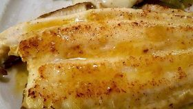 Filetti di limanda al parmigiano