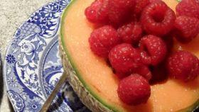 Meloni e lamponi