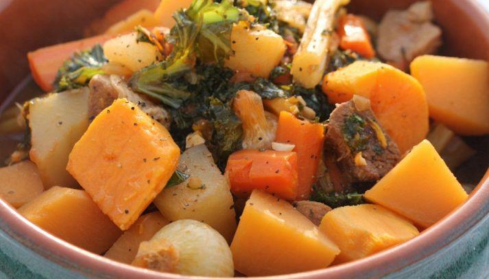 Spezzatino con verdure