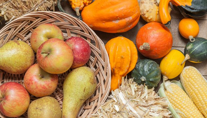 Frutta e verdura del mese di Ottobre