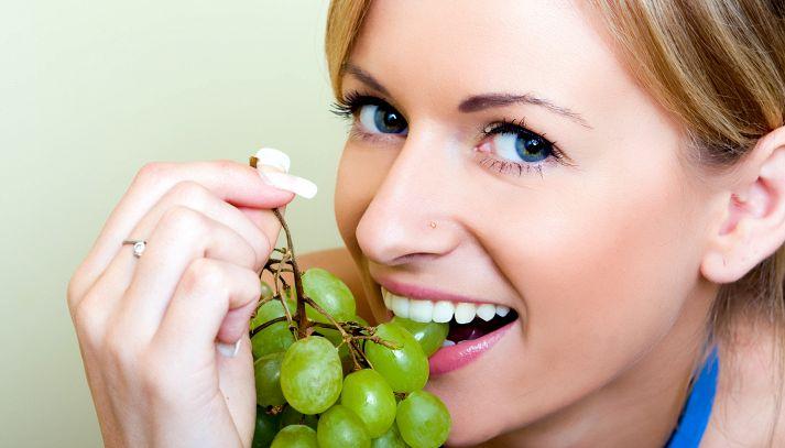 La dieta dell'uva: -2 kg in una settimana