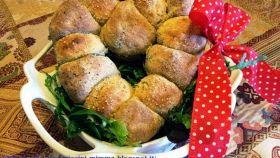 Cuore di pane con semi