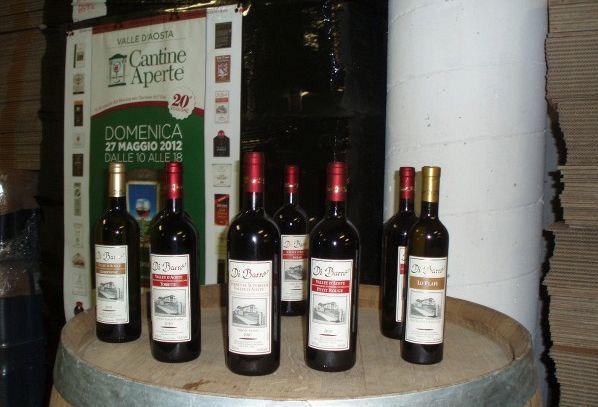 I vini DOC della Valle d'Aosta