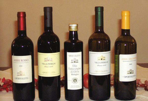 I vini DOC dell'Umbria