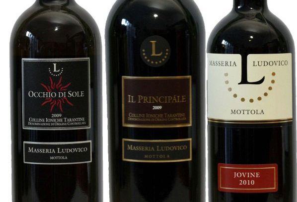 I vini DOC di Taranto in Puglia