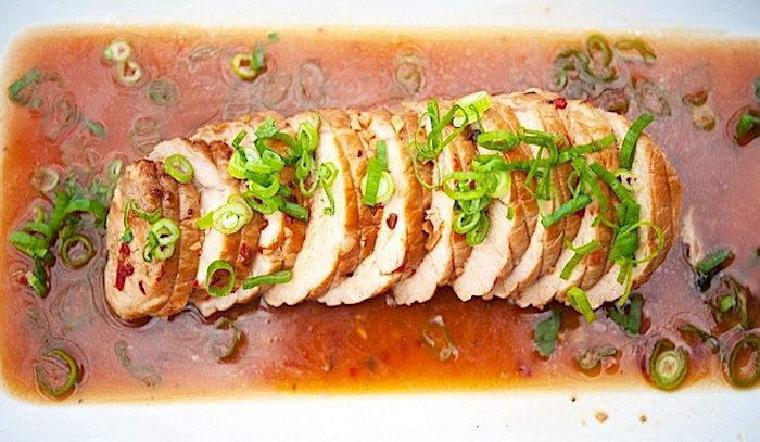 Filetto di maiale al forno
