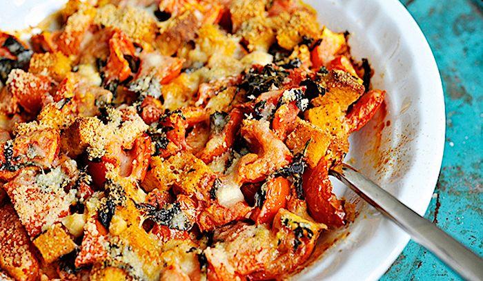 Pomodori gratinati all'aglio