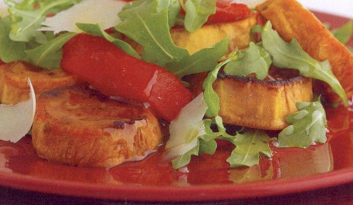 Insalata dolce di verdure al forno