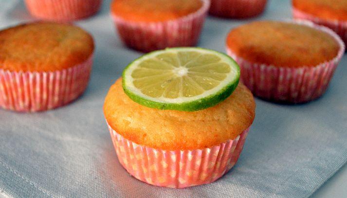 Muffin al lime ed olio d'oliva