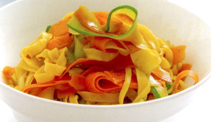Noodles allo zenzero con verdure
