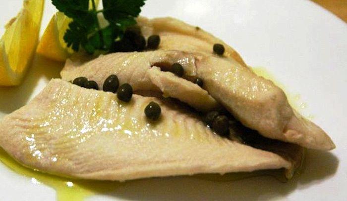 Filetti di pesce al pepe nero