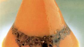Gelatine di peperoni rossi con grissini al cacao