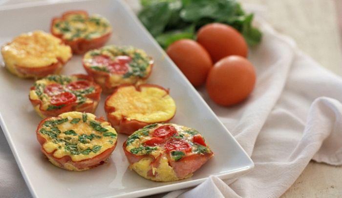 Mini quiche di uova