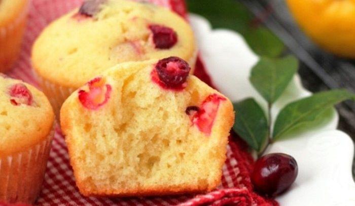 Muffins ai mirtilli ed arance
