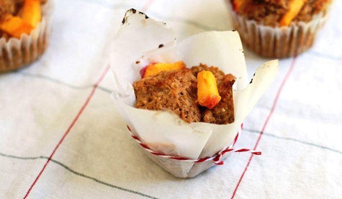 Muffins alle pesche