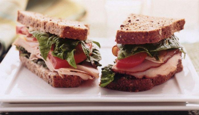 Sandwich di tacchino e maionese
