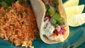 Tacos di pesce grigliato
