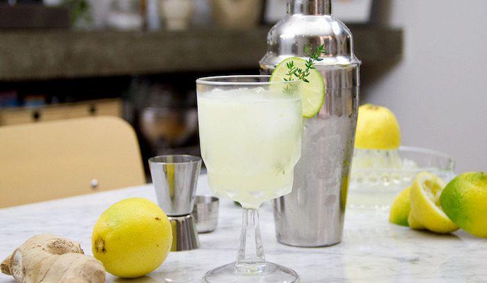 Cocktail allo zenzero
