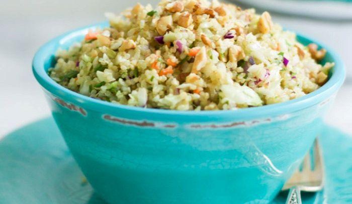 Insalata di quinoa e cavolo