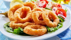 Onion rings - Anelli di cipolla fritti