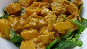 Seitan al curry