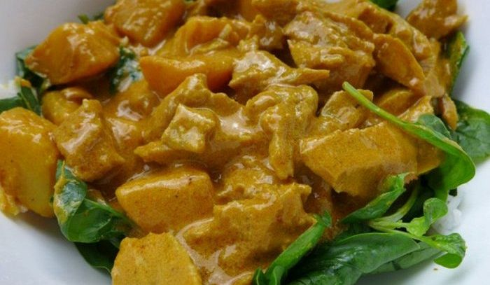 Seitan al curry