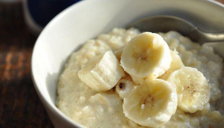 Porridge alle banane