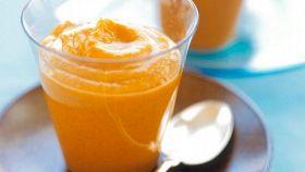 Crema di zucca all'arancia