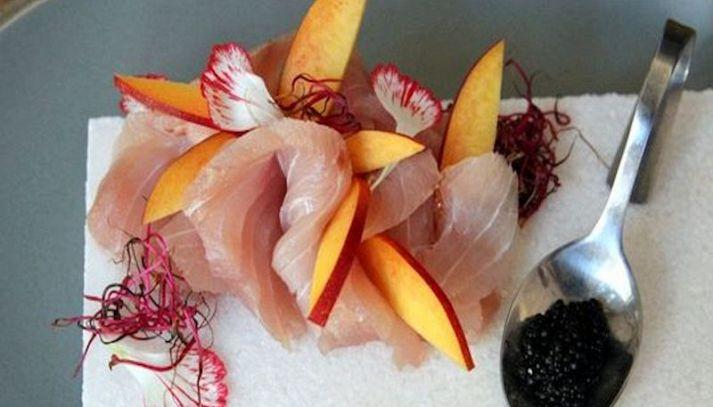 Sashimi di ricciola