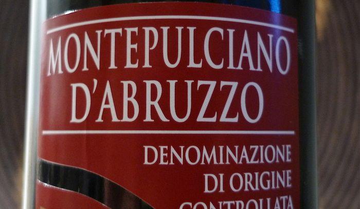 Montepulciano d'Abruzzo, un fresco vino ideale con tanti piatti