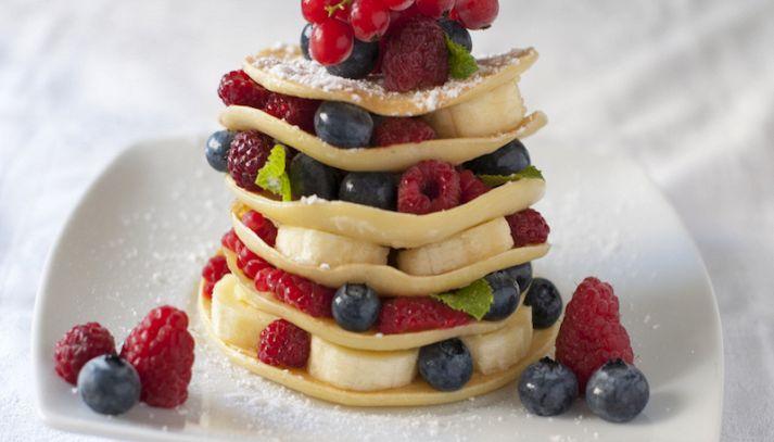 Pancake al miele di bosco