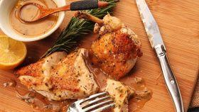 Pollo rucola e feta