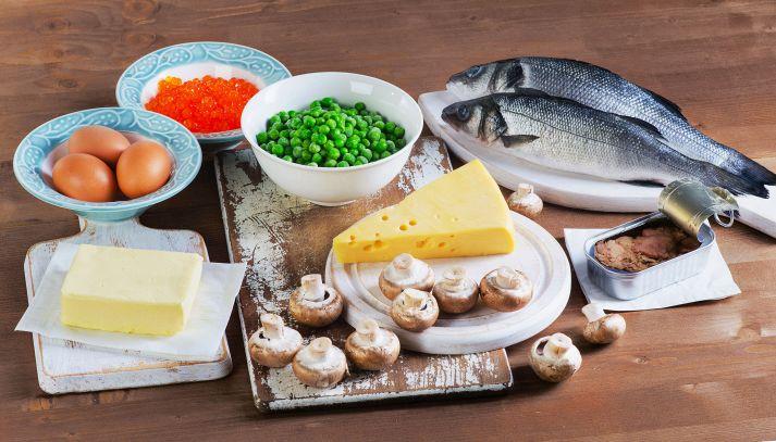 Come superare la carenza di vitamina D a tavola