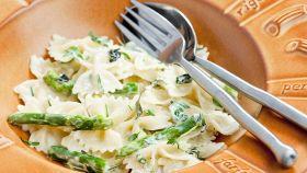 Farfalle asparagi e zucchine