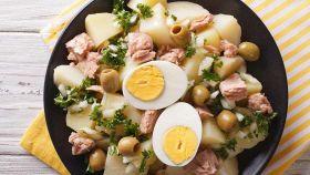 Patate in insalata pescatora