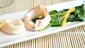 Calamaro con polpa di umeboshi