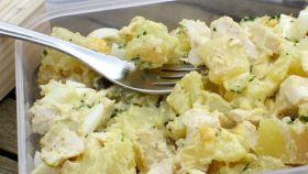 Insalata di pollo con patate