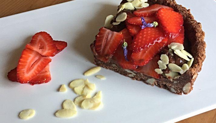 Crostata cioccolato e frutta