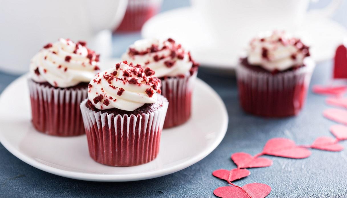 Ricetta Muffin Red Velvet.Ricetta Cupcake Red Velvet Le Ricette Di Buonissimo