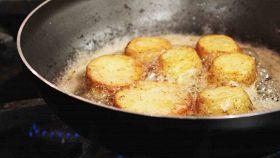 Come friggere correttamente il cibo